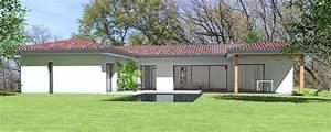Maison Architecte Plain Pied : maison d 39 architecte contemporaine en c de plain pied maison pinterest maison plain pied ~ Melissatoandfro.com Idées de Décoration