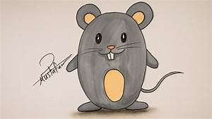 Drawing For Kids - How To Draw A Mouse