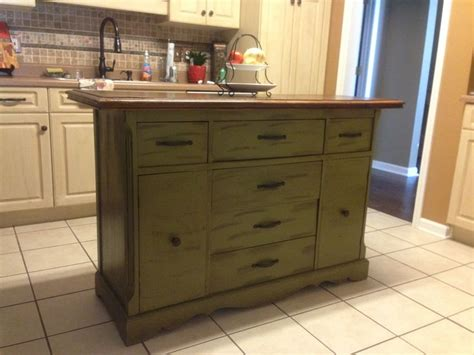 kitchen island buffet repurposed antique buffet made into kitchen island for 1850