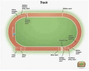 Neat Diagram Of Standard Track With All The Specification