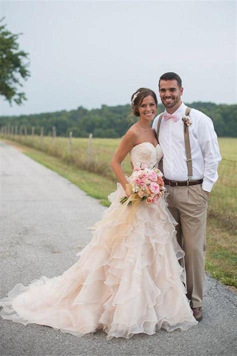 discount delightful wedding dress pink wedding dress