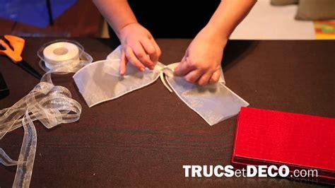 noeud de chaise organza comment faire un noeud en ruban ou tissu tutoriel par