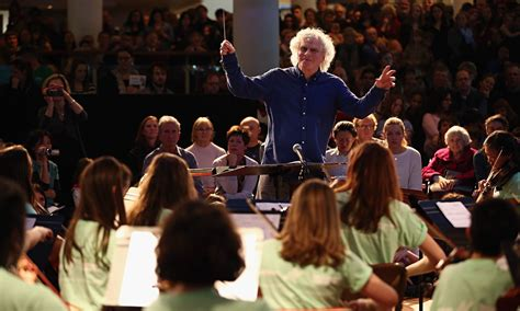 Simon Rattle Can't Save Music Education Alone