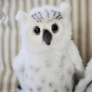 Baby Snowy Owl | Snowy Owl | Lifelike Stuffed Animals ...