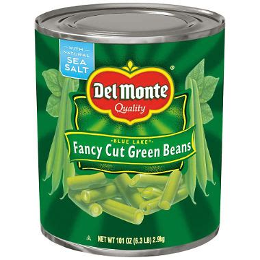 Del Monte Fancy Cut Green Beans (101 oz.) - Sam's Club