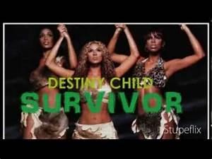 Destinys Child : Survivor (Lyrics) - YouTube