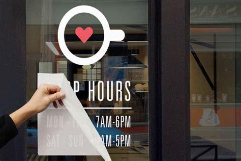 custom window clings for business houston window decals kopy depot 281 548 2888