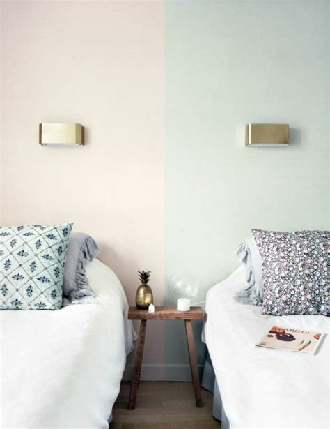 2 couleurs dans une chambre nos astuces en photos pour peindre une pièce en deux