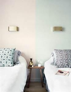 Nos astuces en photos pour peindre une piece en deux for Deux couleurs dans une pi ce