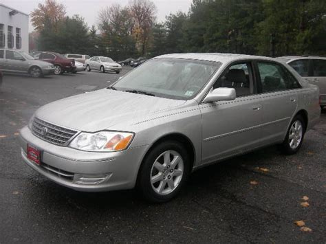 2003 Toyota Avalon  Information And Photos Momentcar