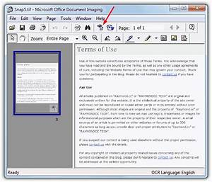 Scan and convert images to text with ocr optical for Microsoft document imaging download