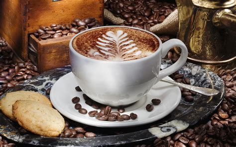 cuisine cappuccino coffee hd wallpaper and background image 2560x1600