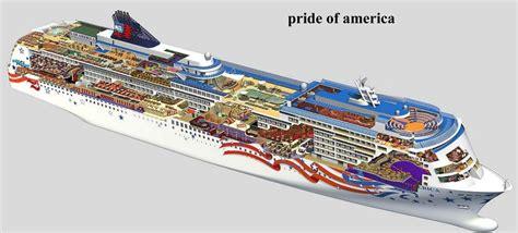ncl deck plans pride of america pride of america все о круизных лайнерах описание фото