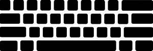 Computer Keyboard Clipart - Clipart Suggest