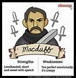 Malcolm in Macbeth - Chart