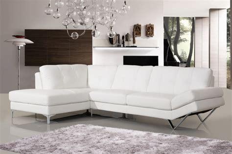 canapé cuir blanc angle canape d 39 angle lugano cuir reconstitue blanc gauche