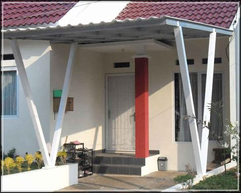 model kanopi teras rumah minimalis  sakti desain