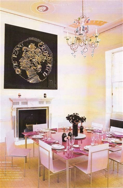 208 Best Pink Dining Rooms Images On Pinterest Pink
