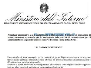 Sito Ministero Interno by Il Ministero Dell Interno Ci Ricasca Cerca Un Giornalista