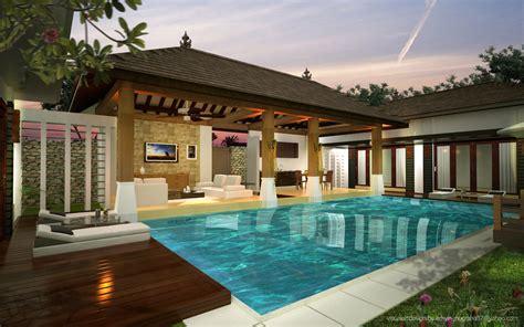 bali agung property  kumpulan desain tropical villa