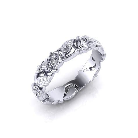 rose wedding ring jewelry designs
