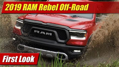 First Look 2019 Ram Rebel Testdriventv
