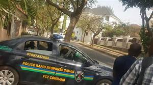Policemen invaded the residence of Senator Dino Melaye in ...