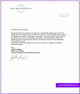 download letter of recommendation samples With referance letter template