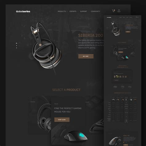 computer psd templates download computer accessories website template free psd download