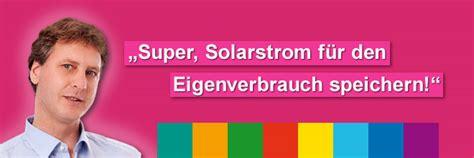 Stromspeicher Solarstrom Nutzen Auch Wenn Es Dunkel Ist by Solarstrom Speichern Und Sparen Me Elektrotechnik