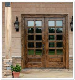 Wooden French Doors Exterior