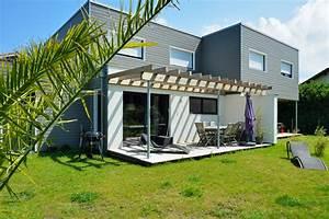 Idee De Pergola En Bois : terrasses et pergolas construction de maisons en bois bbc dans les landes ~ Melissatoandfro.com Idées de Décoration