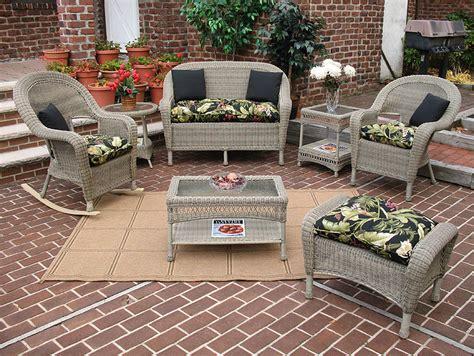 wicker driftwood malibu outdoor wicker patio furniture
