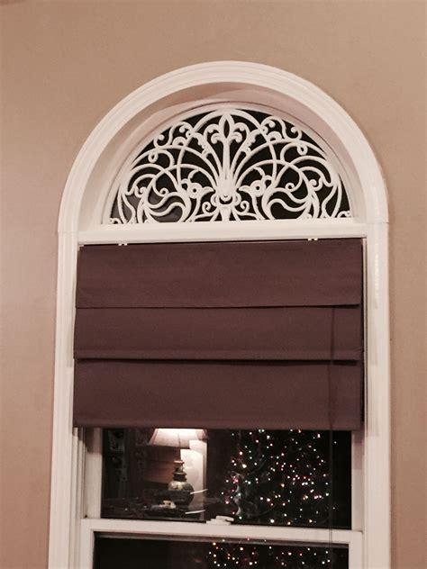 diy faux wrought iron arch  windows  rubber door
