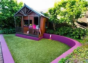 Maison Jardin Pour Enfant : cabane de jardin pour enfant jeux en plein air ~ Premium-room.com Idées de Décoration