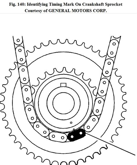 Chevrolet Malibu Timing Chain Diagram