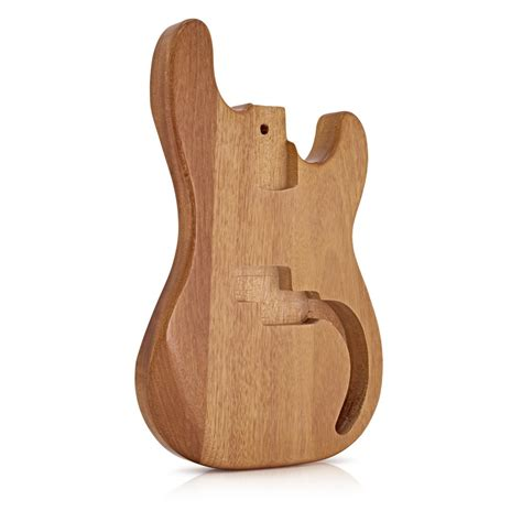 Bass Guitar Body, Natural Mahogany  Bstock At Gear4musiccom