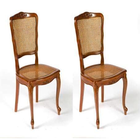 chaise merisier lot 2 chaises cannée régence achat vente chaise hêtre