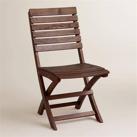 wood folding chairs set of 2 world market