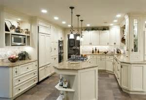 kitchen cabinets with countertops and grey floors kitchen with floors and