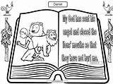 Daniel Lions Coloring Den Pages Sheet Verse Printable Bible Preschool Popular Worksheets Template Coloringhome sketch template