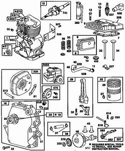 Briggs And Stratton 500 Series Parts List