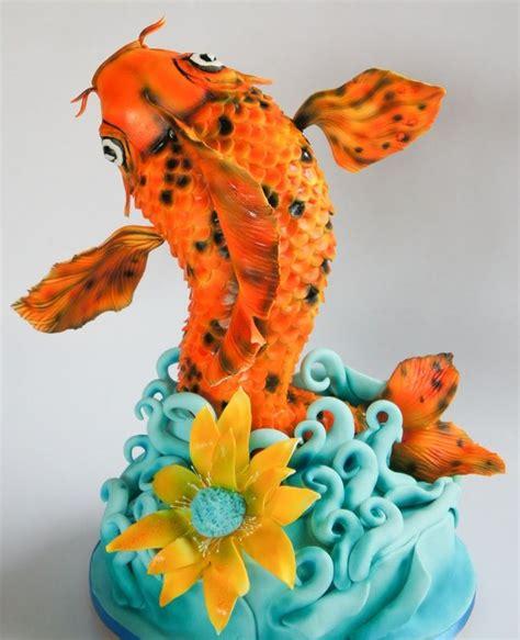 japanese fish cake birthday cake geometric cerca con google torte decorate a tema pinterest birthday cakes