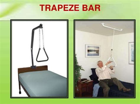 trapeze bar for bed comfort devices