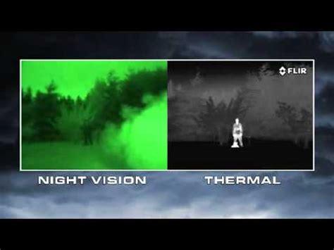 Night Vision versus Thermal Imaging - YouTube