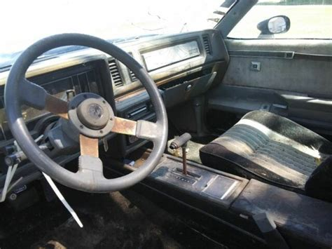 1987 Buick Grand National Parts For Sale by Buick Grand National N R Parts Car Classic Buick Grand
