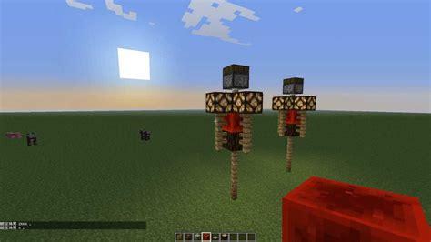 Redstone Ls With Daylight Sensor by Minecraft 感應型紅石路燈