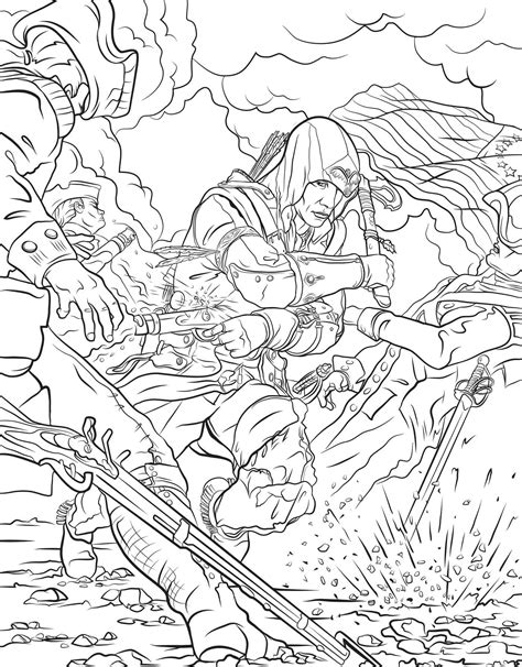 assassins creed  official coloring book book