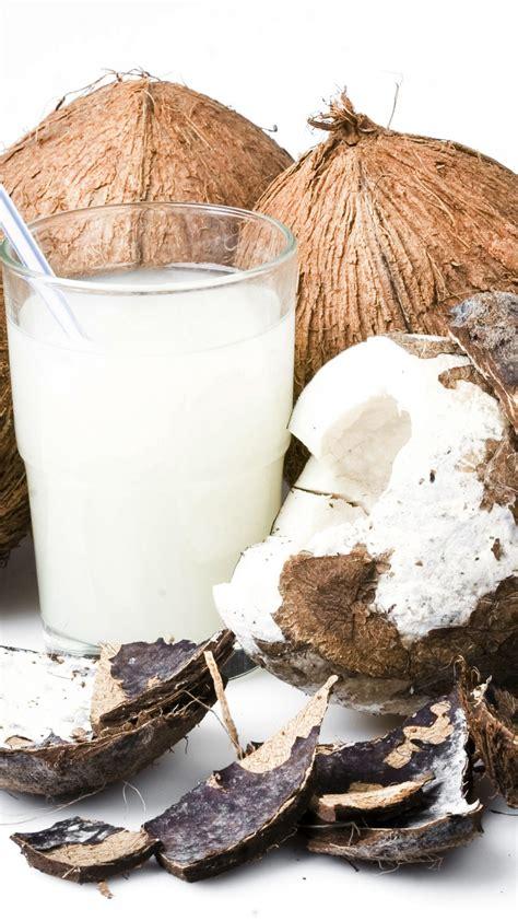 wallpaper coconut milk food