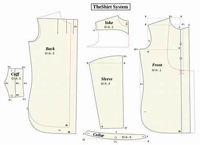 Sewing Pattern Svg Patterns Shirt Garment Easy